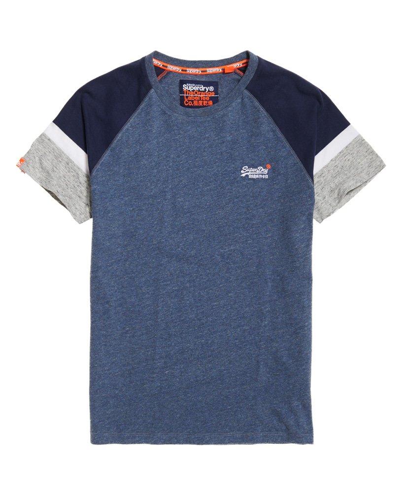 Superdry Engineered Baseball Short Sleeve T-Shirt