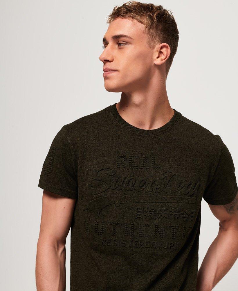 Superdry T-shirt Vintage à logo en relief Authentic thumbnail 1