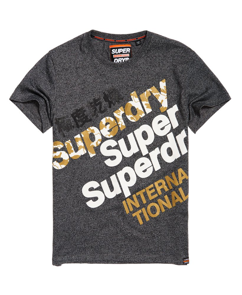 Superdry International Monochrome -T-paita