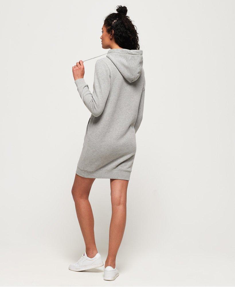 Tarjouskoodi halvempaa huippusuunnittelu Womens - Deakin Embellished Sweat Dress in Grey Marl | Superdry