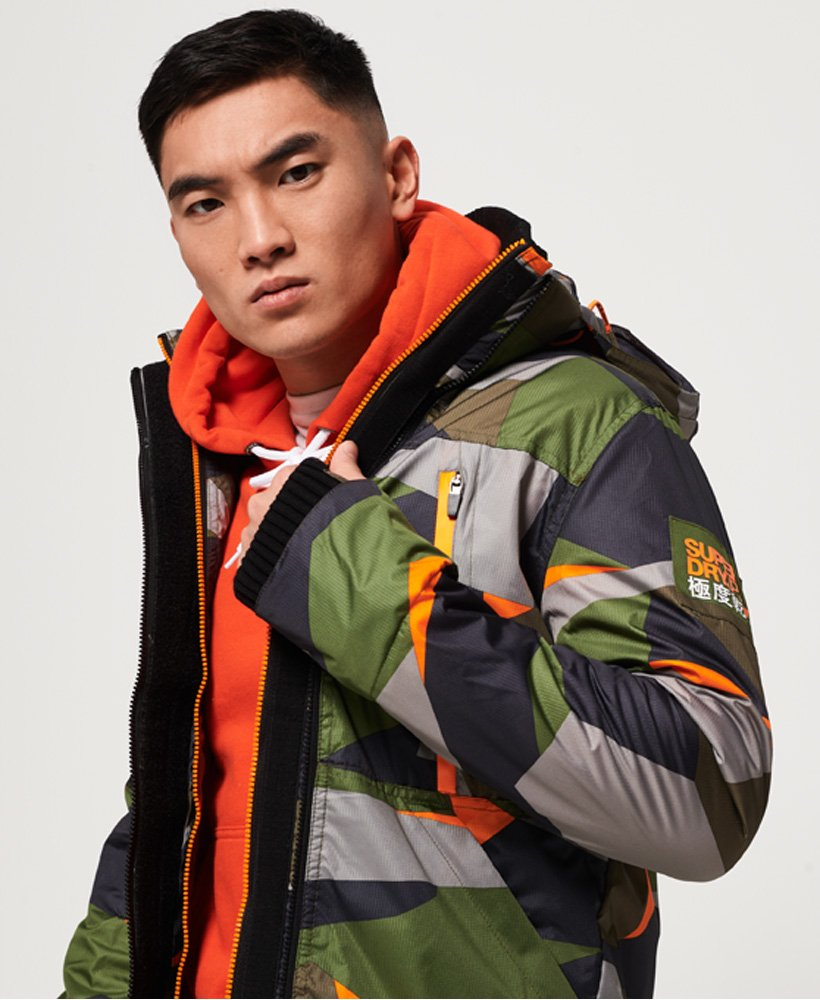 Superdry Hooded Polar SD-Windattacker Jacket thumbnail 1