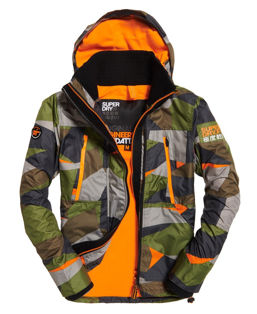 Superdry Polar SD-Wind Attacker Jacke mit Kapuze