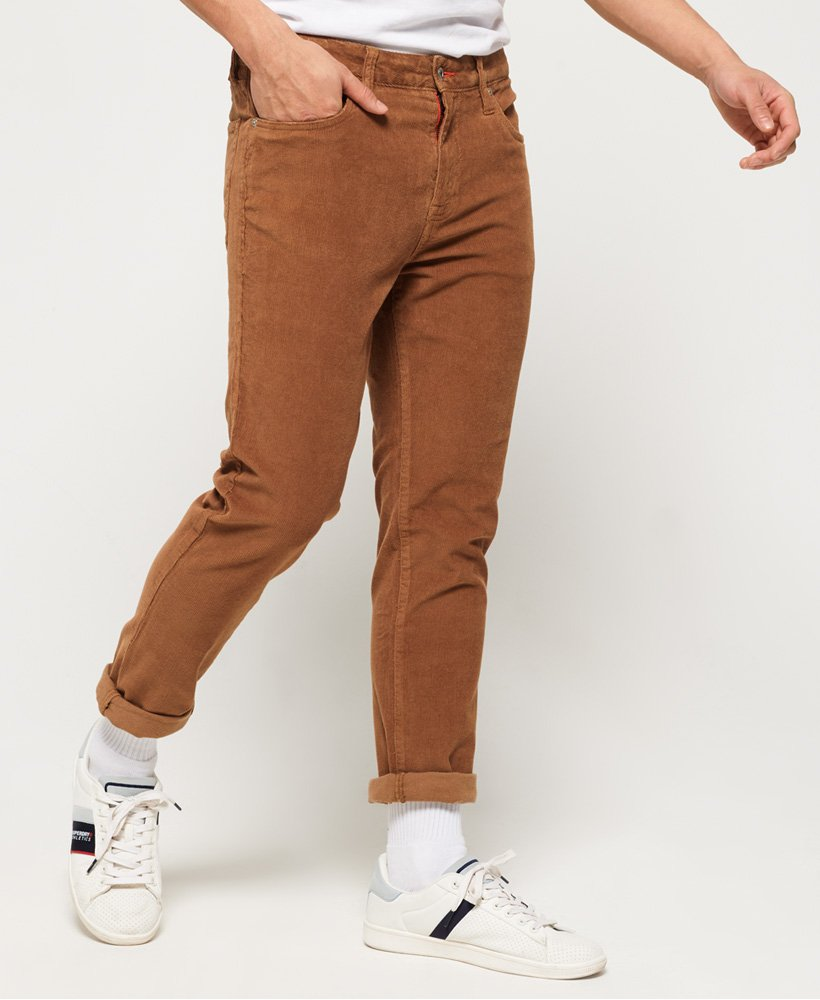 Superdry Slim Tyler Cord Five Pocket Trousers  thumbnail 1
