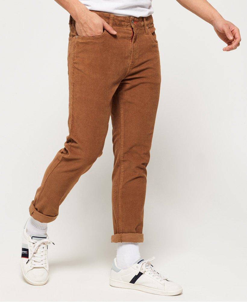 Superdry Pantalón slim fit de cinco bolsillos con cordón Tyler