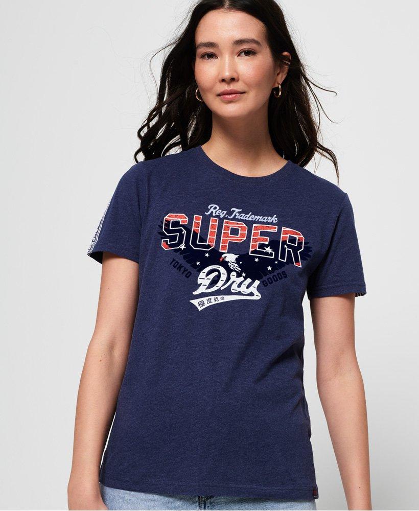Superdry T-shirt floqué avec étoile Eagle