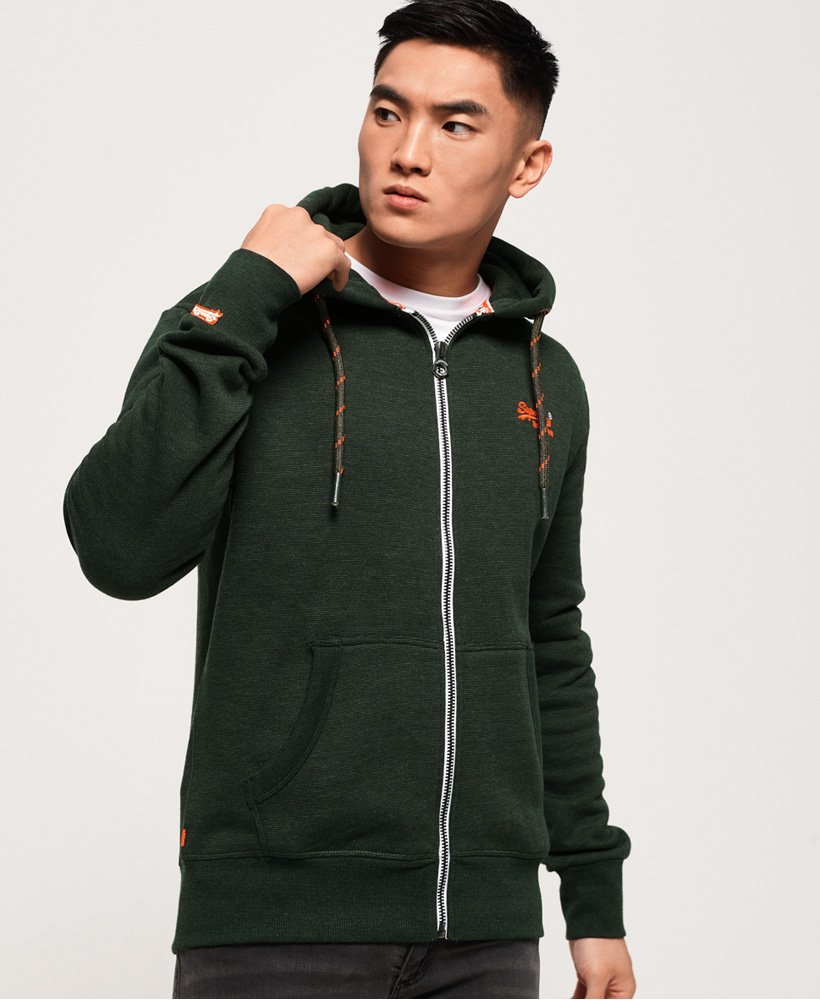 Superdry Orange Label Zip Hoodie thumbnail 1