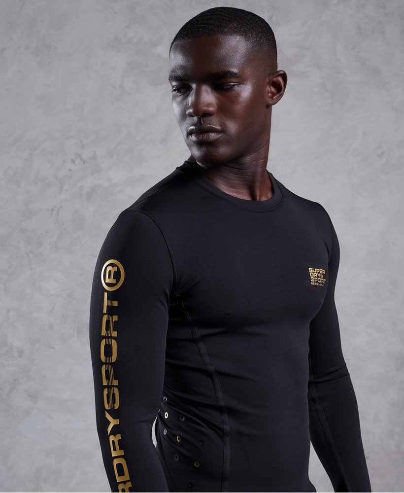 Superdry Performance Compression Long Sleeve Top thumbnail 1