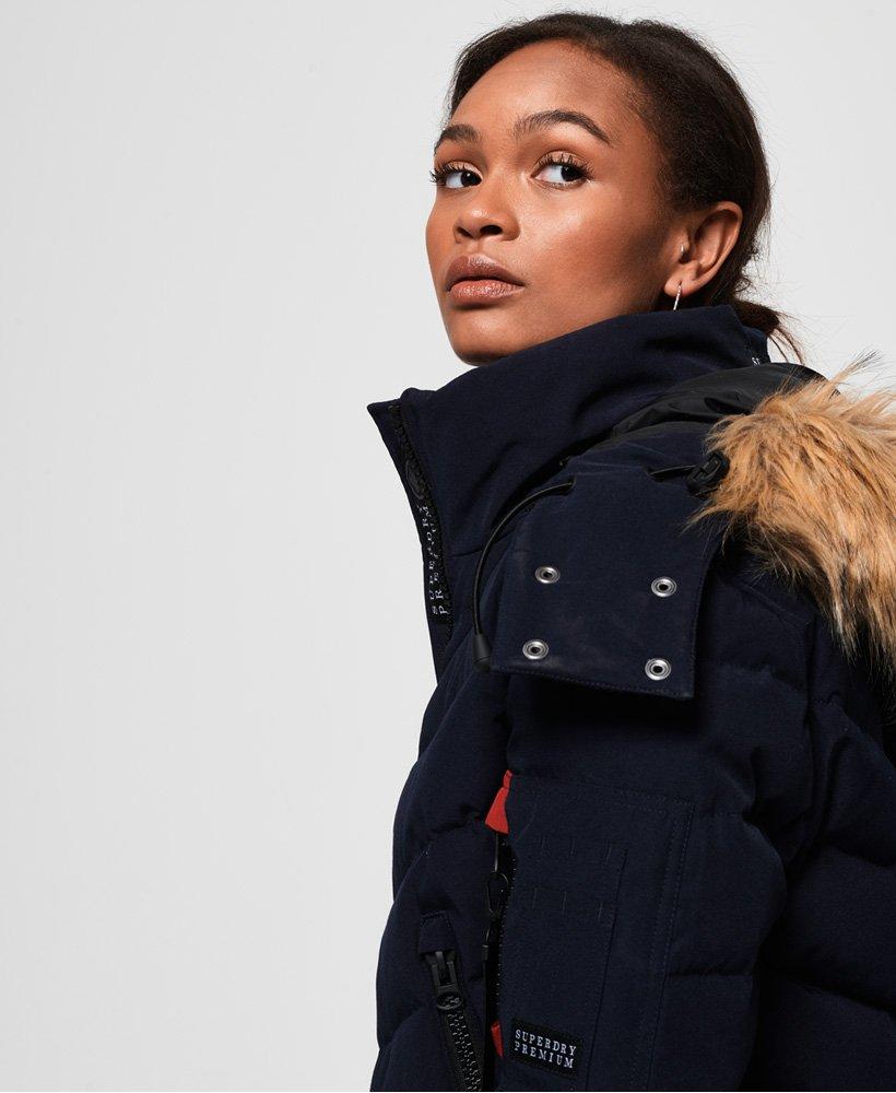 Superdry Gesteppte Premium Daunen Bomberjacke Damen Jacken