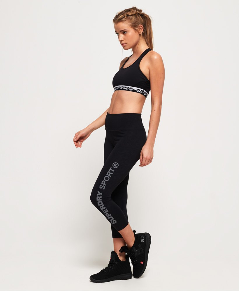 Superdry SD Core Sport Essential Capri Leggings thumbnail 1