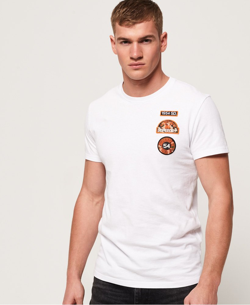 Superdry T-shirt à écussons thumbnail 1