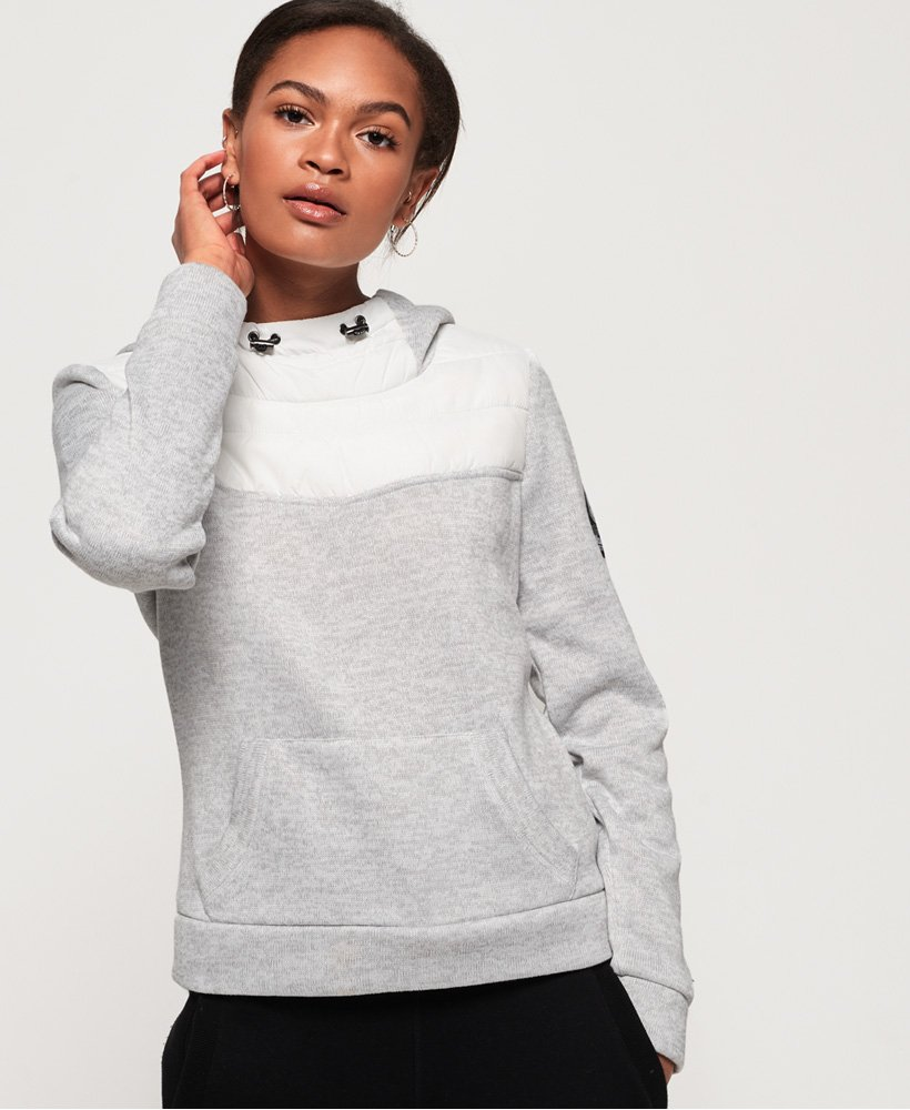 Superdry SD Storm Hybrid Funnel Hoodie thumbnail 1