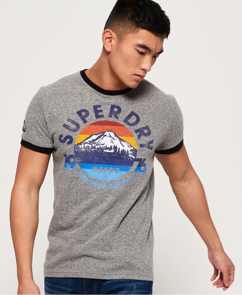 Superdry 76 Ringer T-Shirt  thumbnail 1
