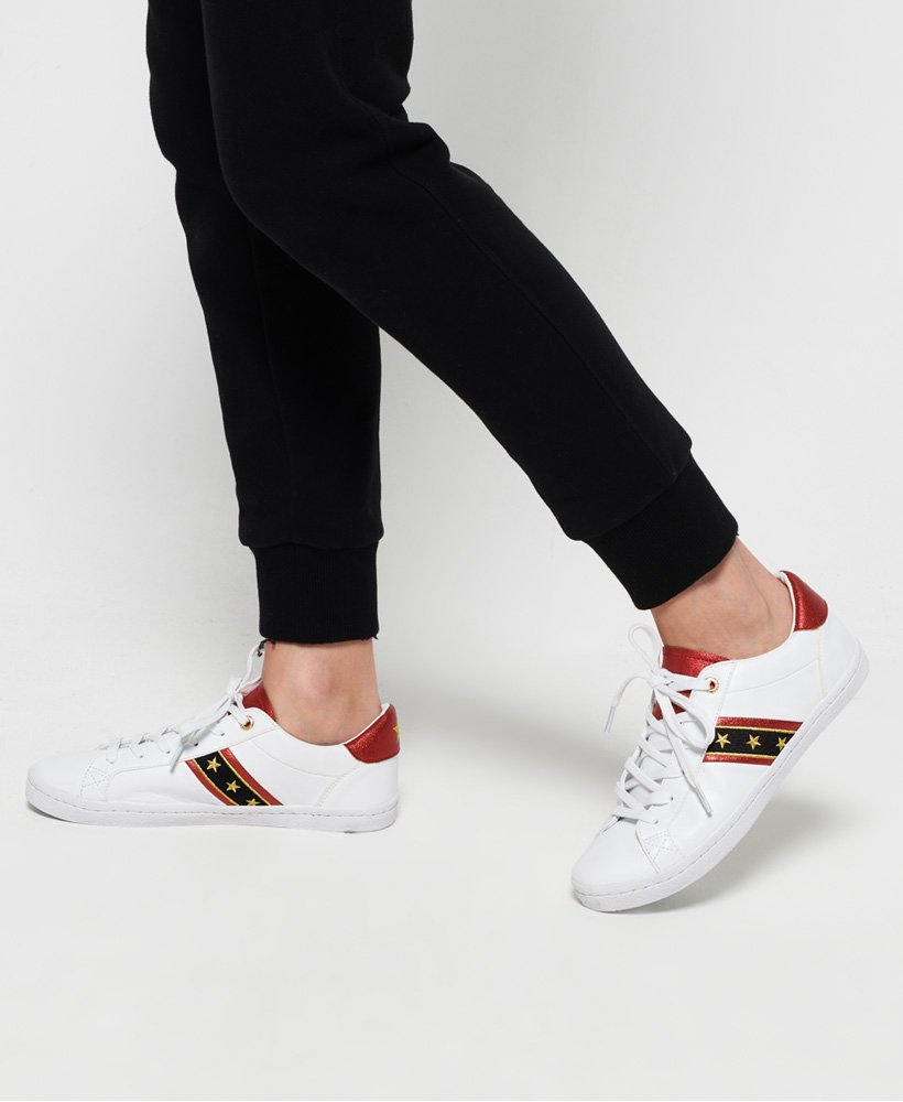 Superdry Priya Sleek Low Pro Trainers thumbnail 1