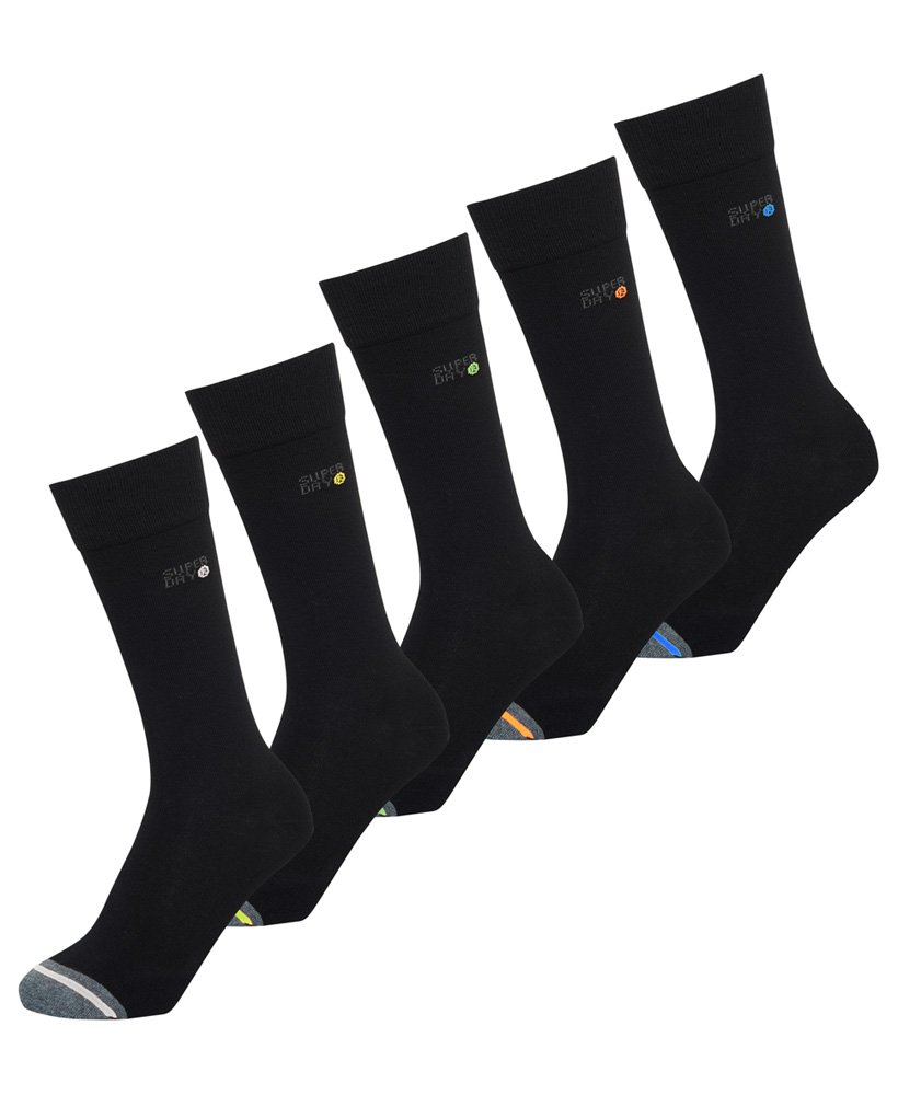 Superdry SD Jacquard Five Pack Socks