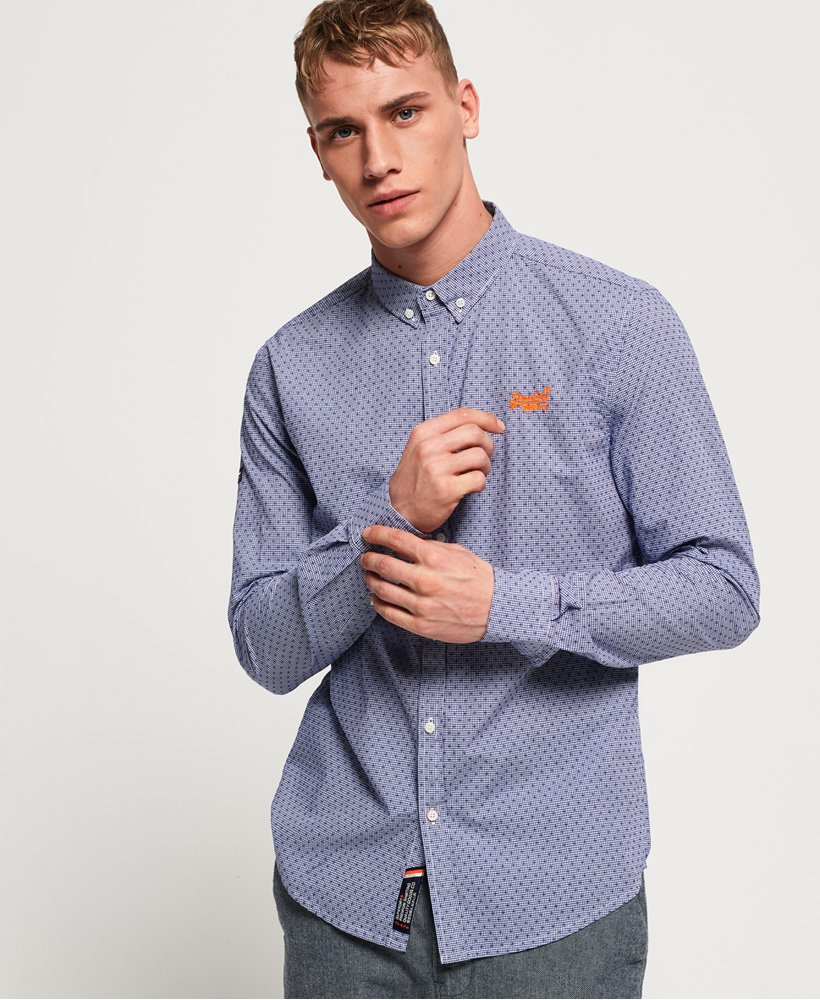 Superdry Premium Button-down-Hemd thumbnail 1