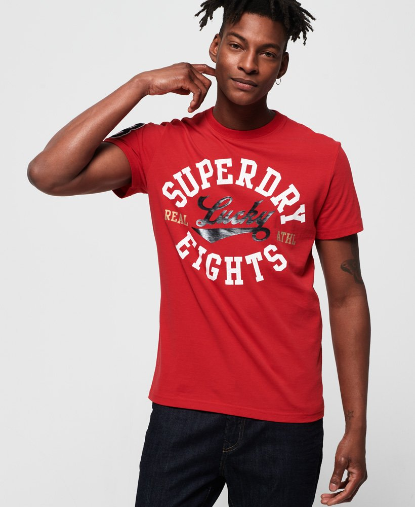 Superdry Lucky Eights Varsity CNY T-Shirt thumbnail 1