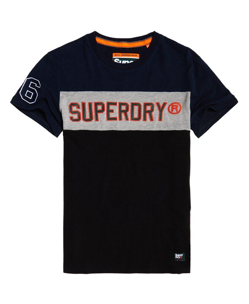 Superdry Applique Colour Block Short Sleeve T-Shirt