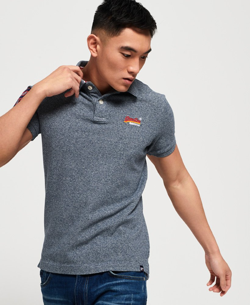 Superdry Klassisches Polohemd aus Pikee thumbnail 1