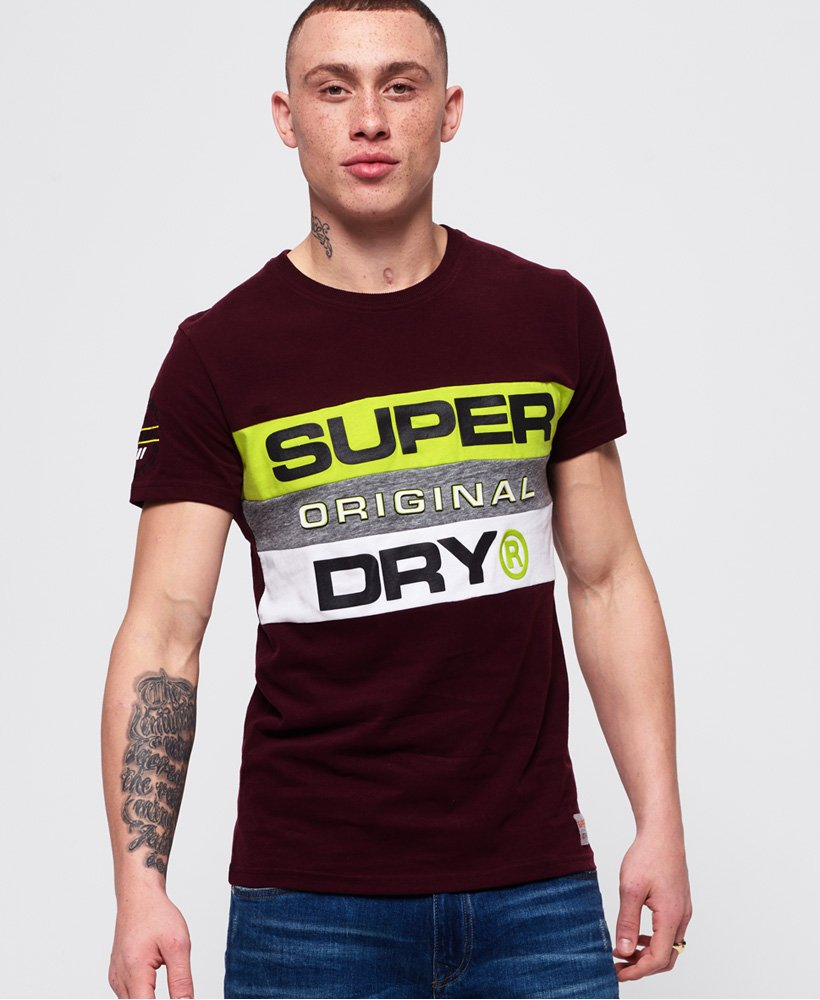 Superdry Trophy Panel T-Shirt thumbnail 1