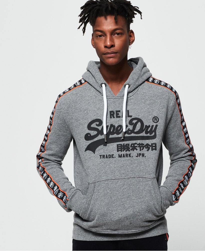 Superdry Vintage Logo Repeat Panel Hoodie thumbnail 1