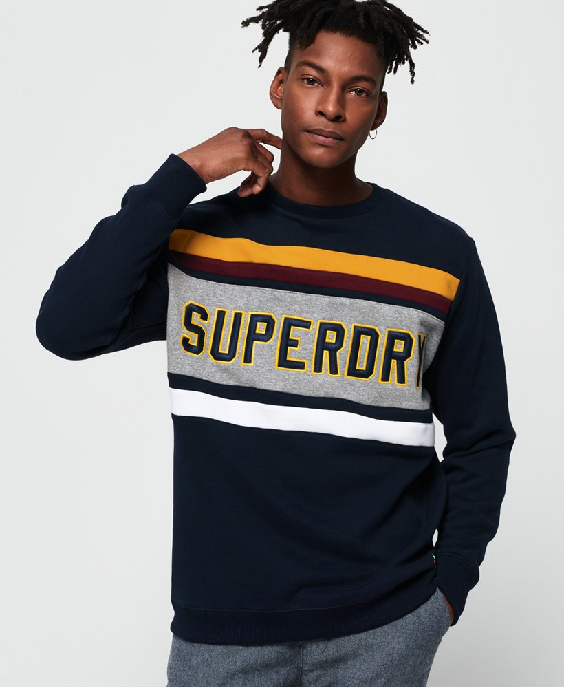 Superdry Applique Weekend Cut & Sew -collegepaita thumbnail 1