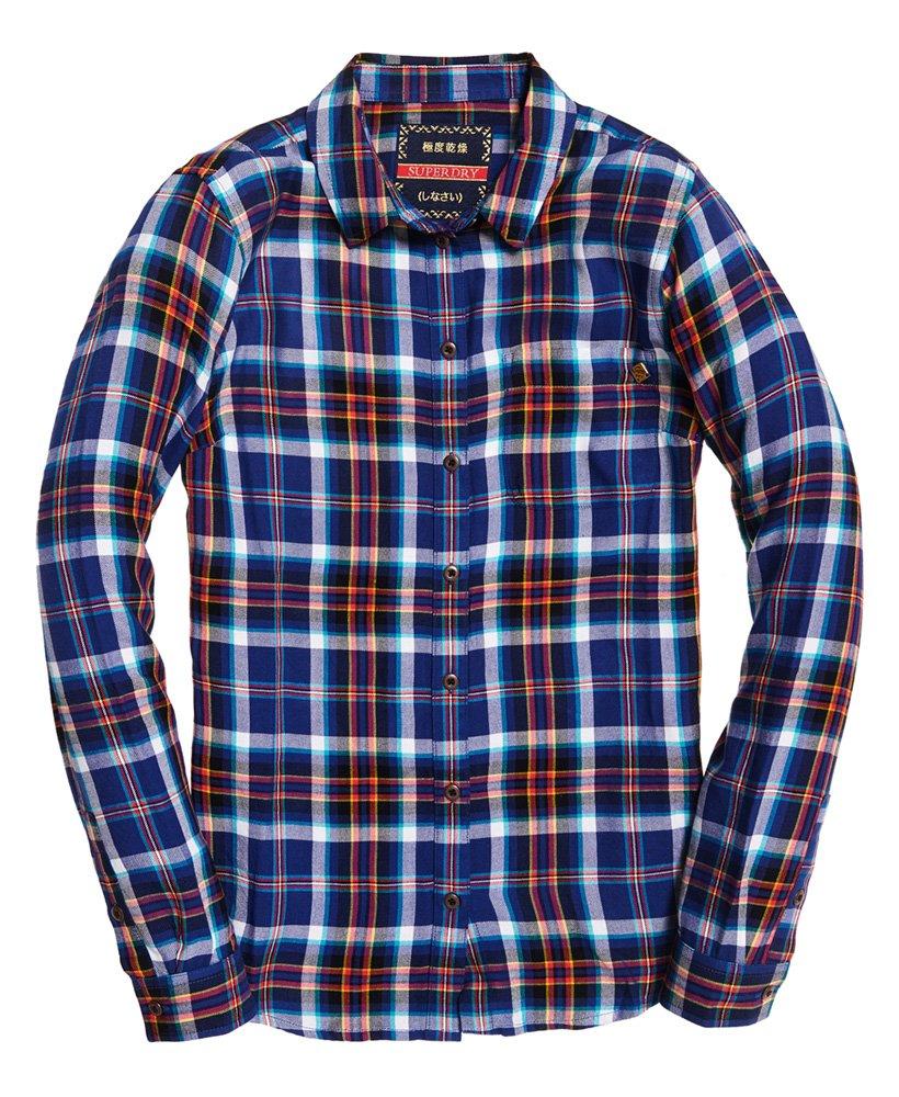 Superdry Anneka rutet skjorte Dame Sale View All