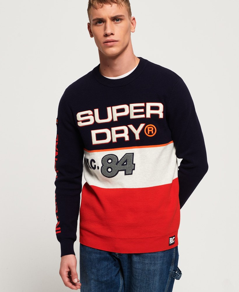 Superdry Mega Logo Crew Neck Jumper