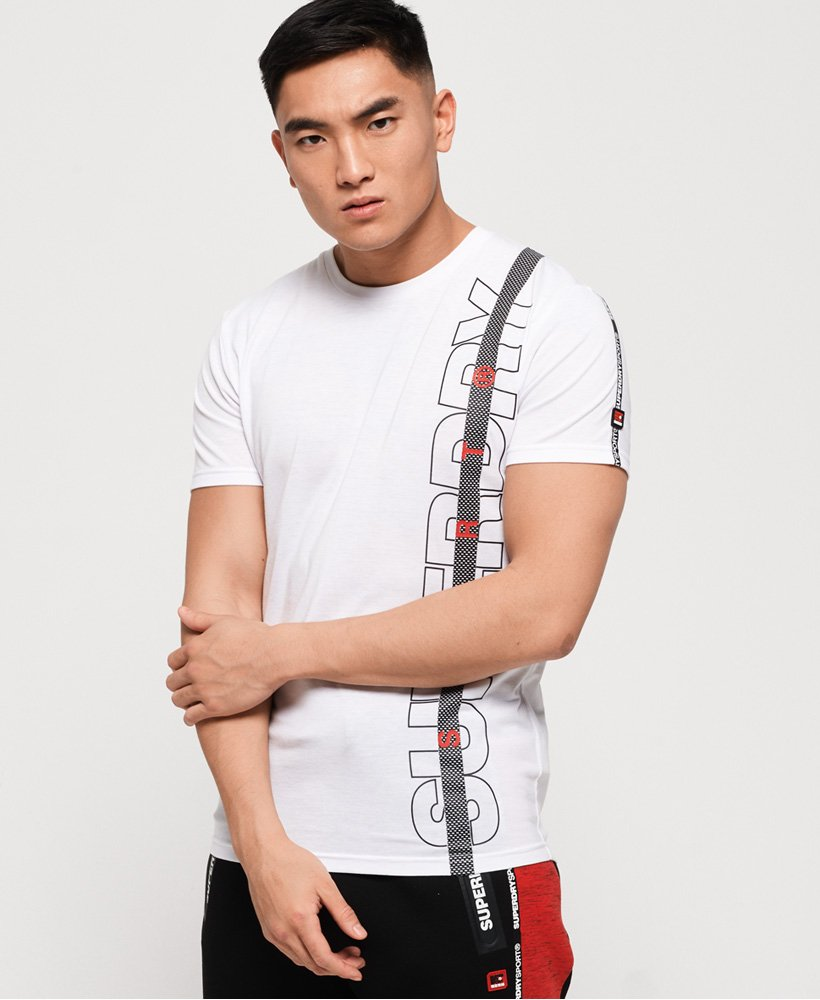 Superdry Core Taped-T-skjorte