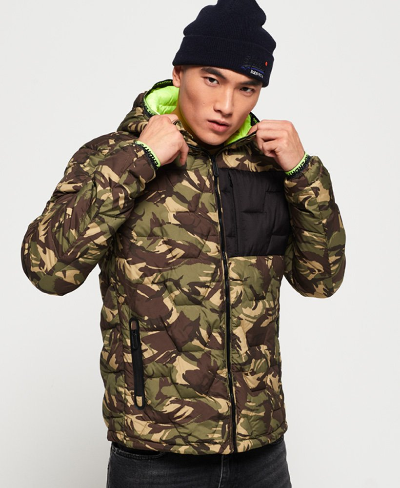 Superdry Hex Quilted Jacket  thumbnail 1