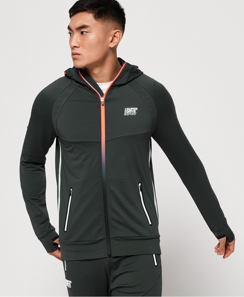 Superdry Felpa con cappuccio e zip Active Training