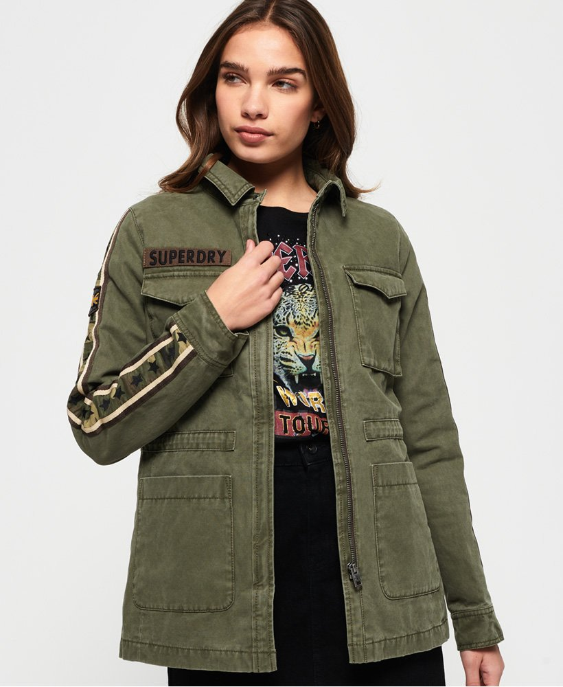 Superdry Rookie Shackett mit Stern-Print thumbnail 1