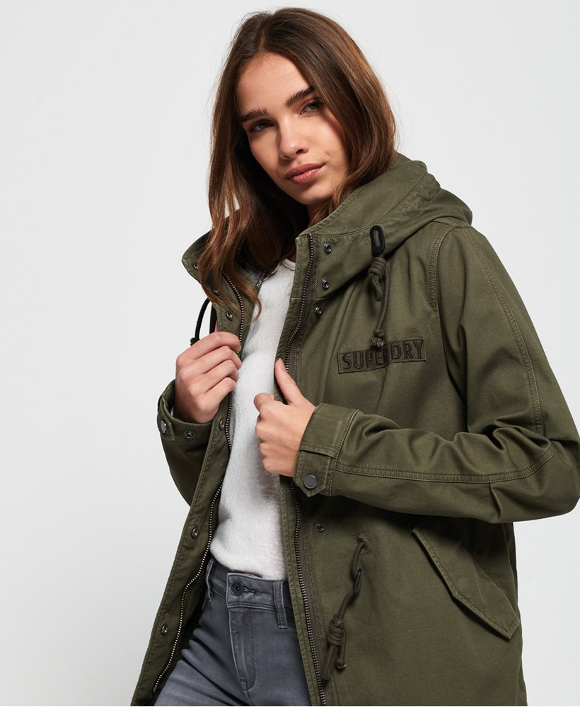 Superdry Rookie Bonded Parka Jacket thumbnail 1