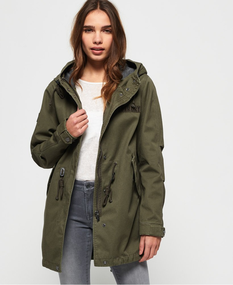 Superdry Rookie Bonded Parka Jacket