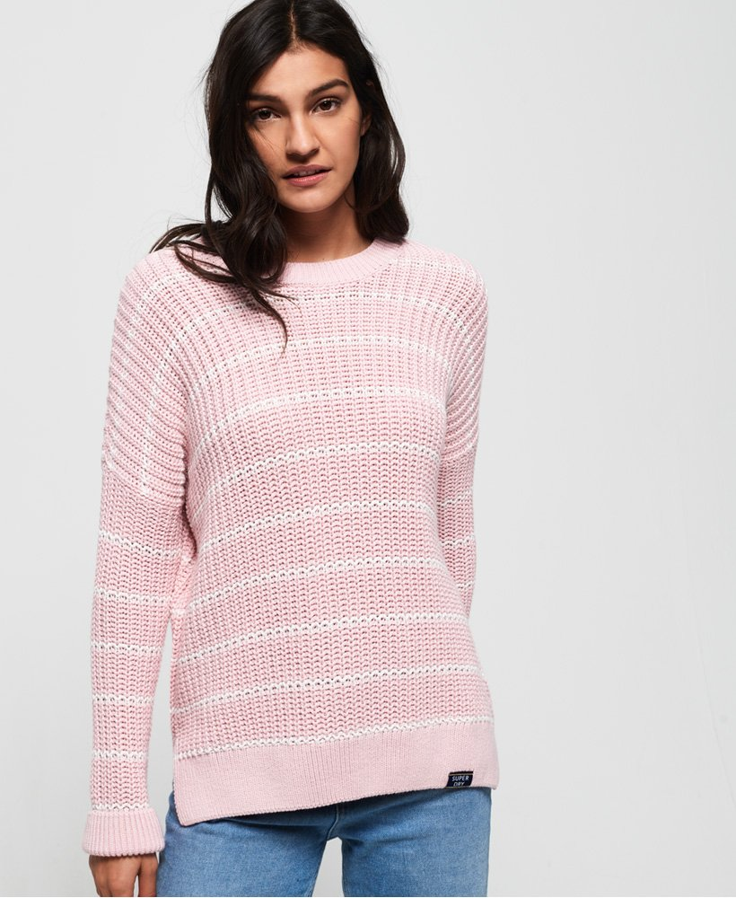 Superdry Elsie Slouch Crew Knit Jumper thumbnail 1