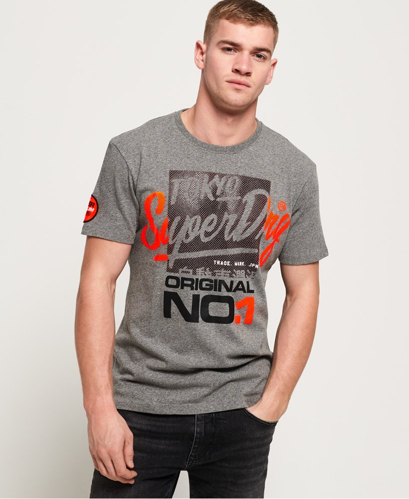 Superdry T-shirt ajusté Reactive Classic Box thumbnail 1