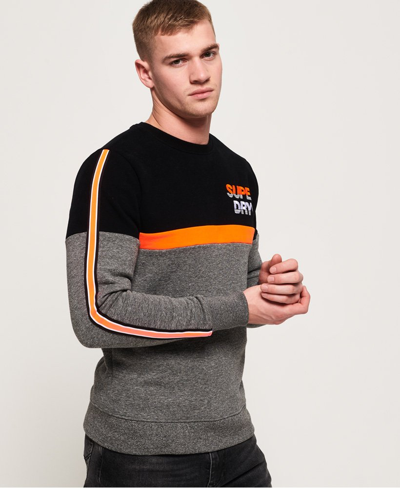 Superdry Applique Oversized Nu Lad Crew Sweatshirt