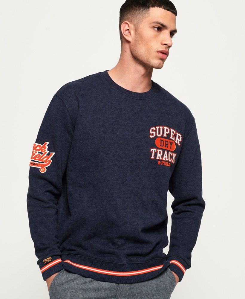 Superdry Split Track Oversized Sweatshirt thumbnail 1