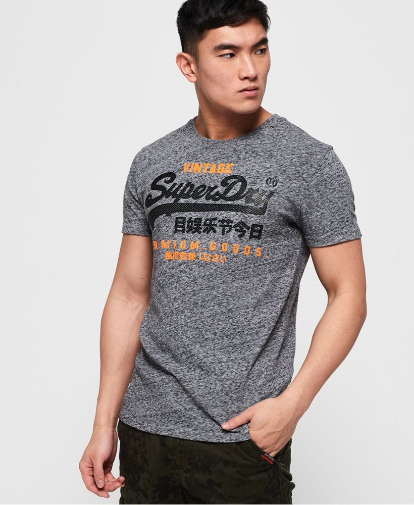 Superdry Premium Goods Duo T-Shirt thumbnail 1