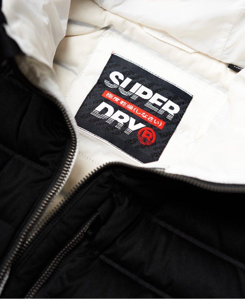 Superdry. Contak Stretch daunenjacke Schwarz Damen