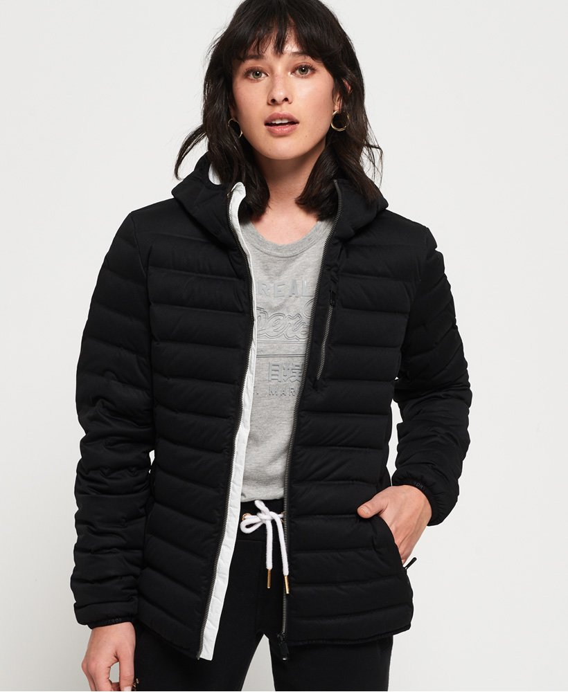 Superdry Contak Down Stretch Jacket thumbnail 1