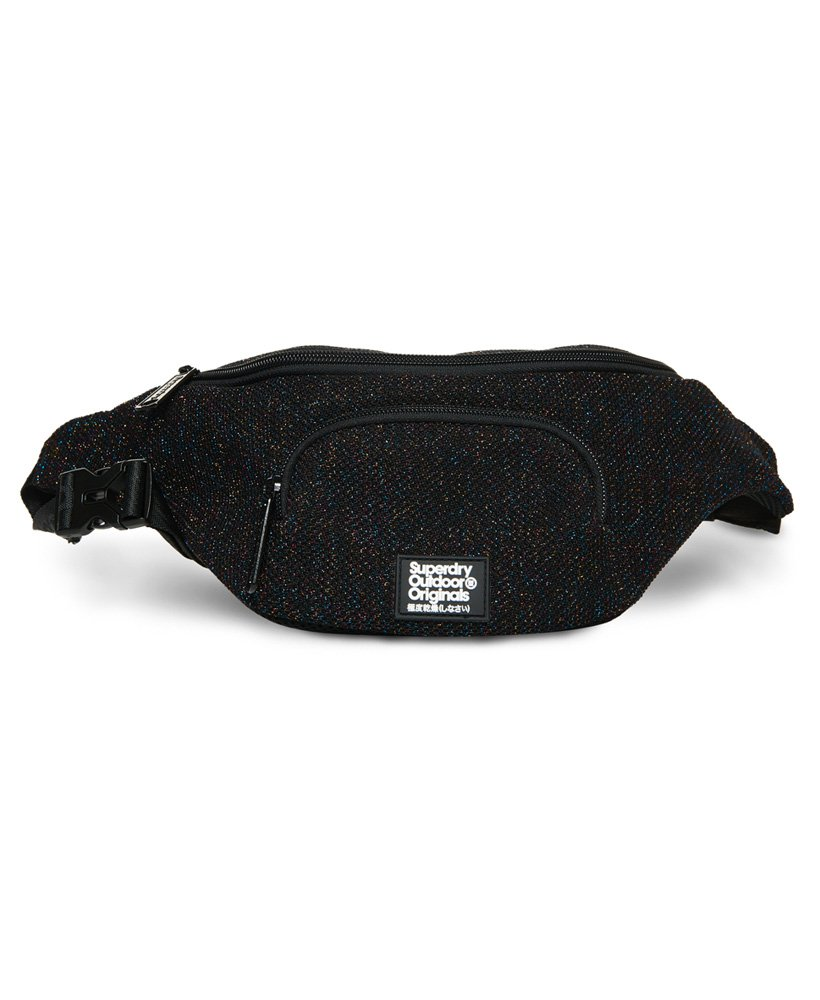 Superdry Metallic Knit Bum Bag