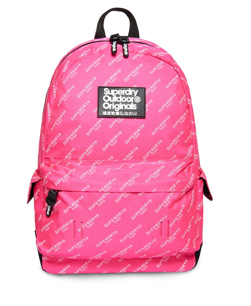 ad1a0a77682 Womens - Print Edition Montana Rucksack in Pink Aop | Superdry