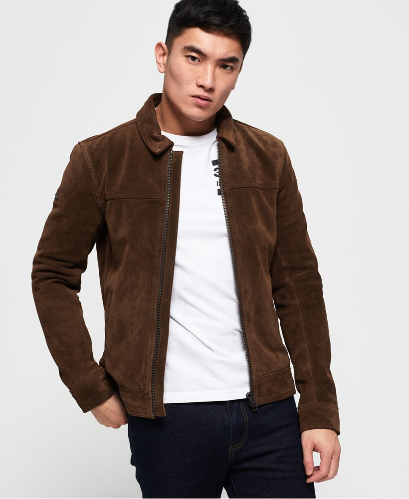 Superdry Curtis Suede Jacket  thumbnail 1