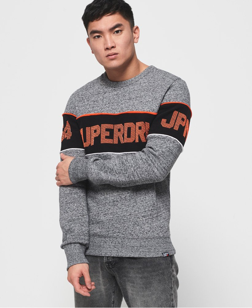 Superdry Retro sweatshirt med stribedesign thumbnail 1