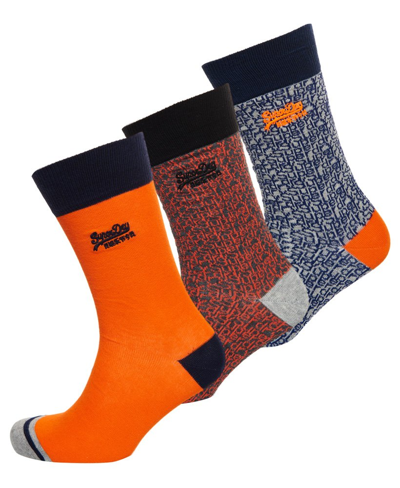 Superdry City Socken im 3er-Pack