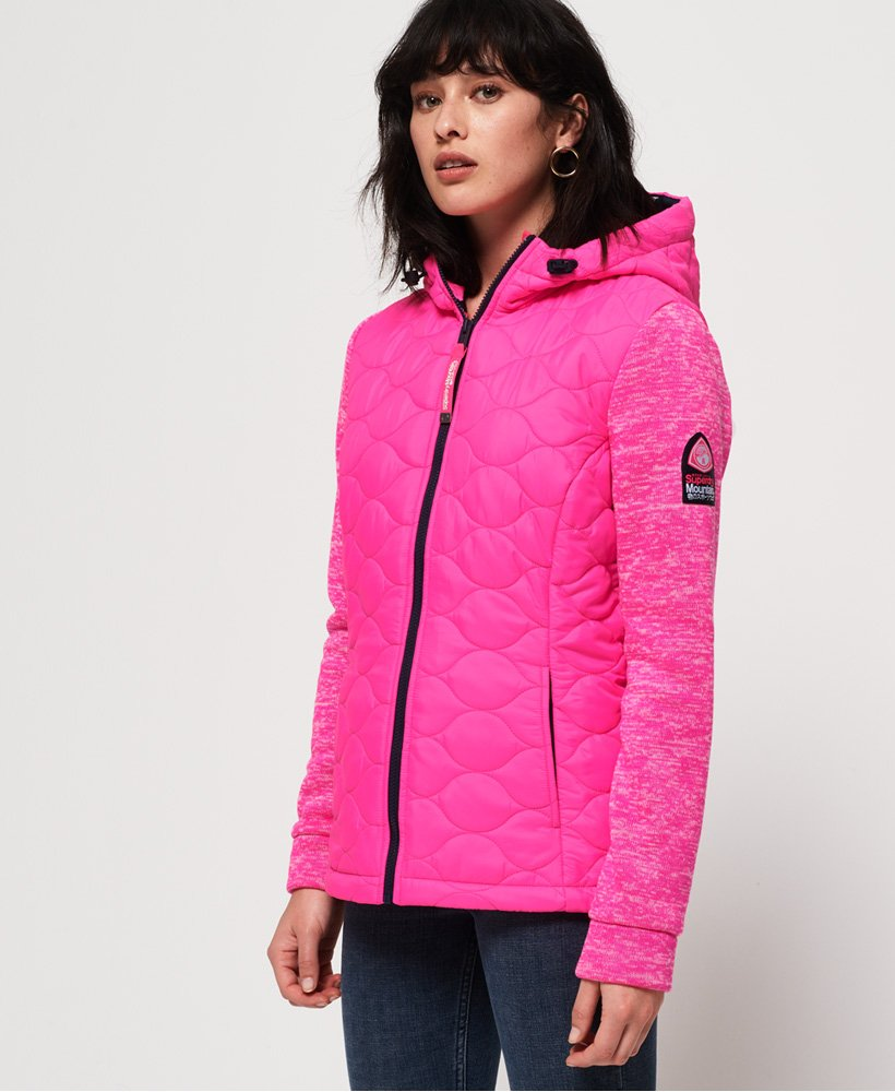 Superdry SD Storm Quilted Hybrid Jacket thumbnail 1