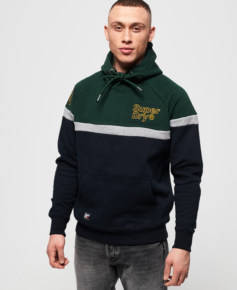Superdry Applique Colour Block Hoodie thumbnail 1