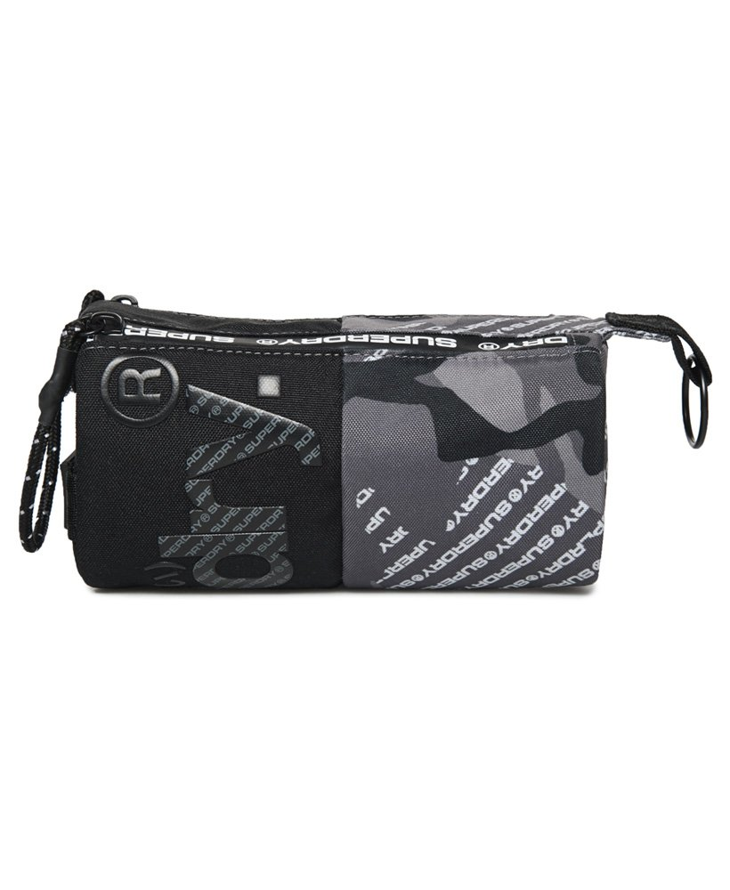 Superdry Camo Logo Tarp Pencil Case  thumbnail 1
