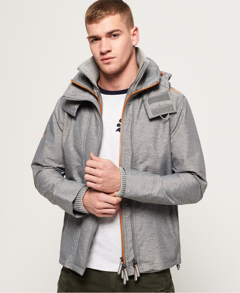 Superdry Technical Hooded Pop Zip SD-Windcheater Jacket thumbnail 1