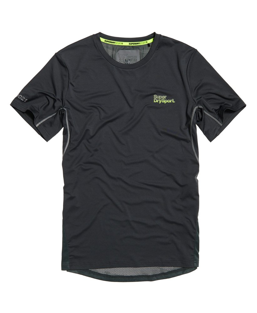 Superdry Active Camo Jacquard Tee T-Shirt Homme